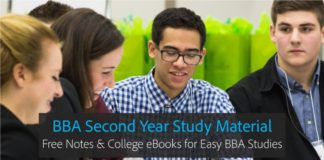 BBA Second year Notes, eBooks PDF Download